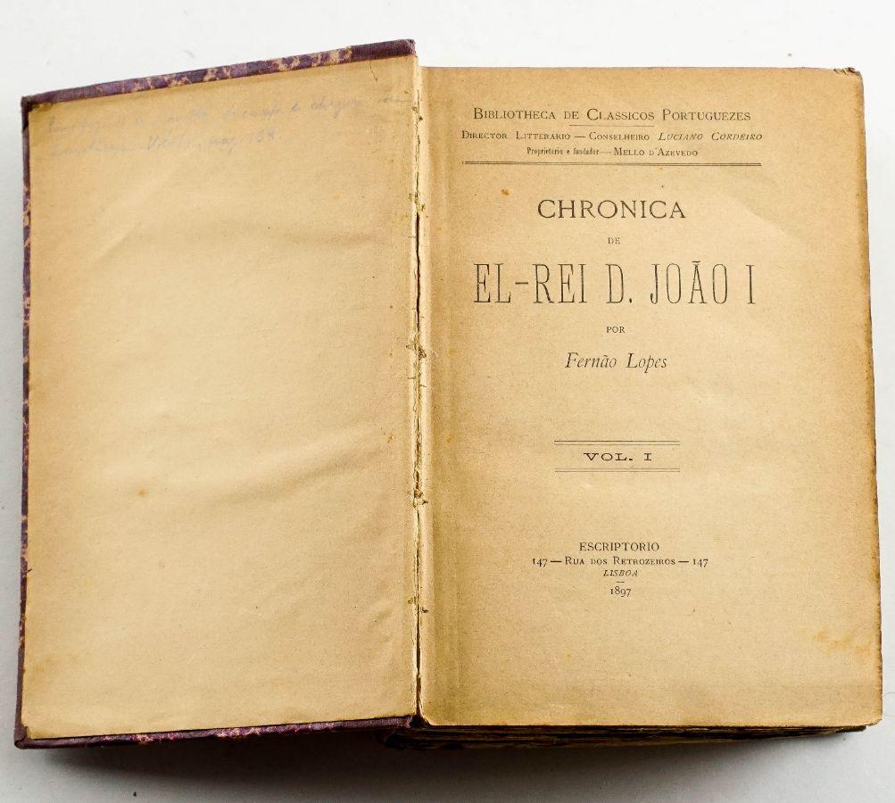 Chrónica de El-Rei D. João I – Fernão Lopes