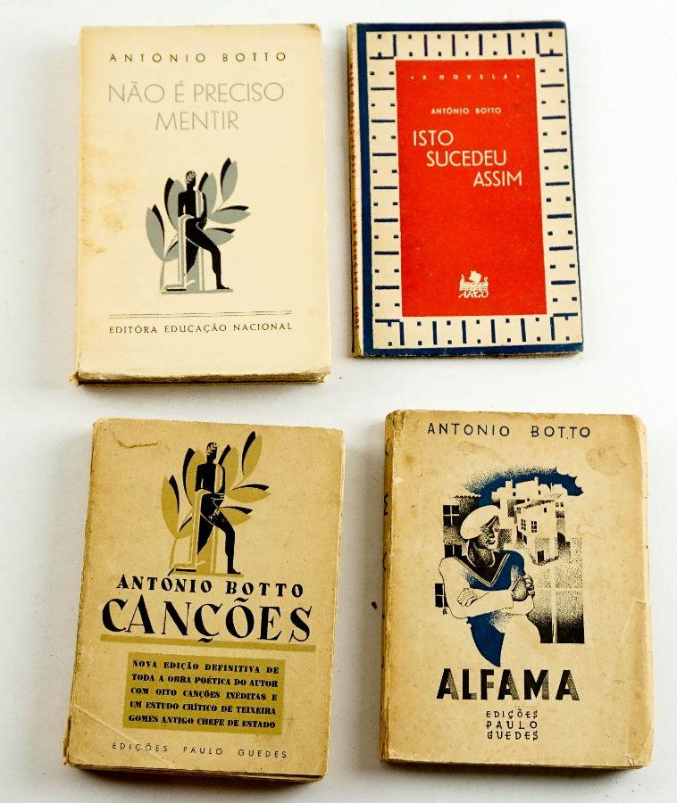 António Botto – 4 livros