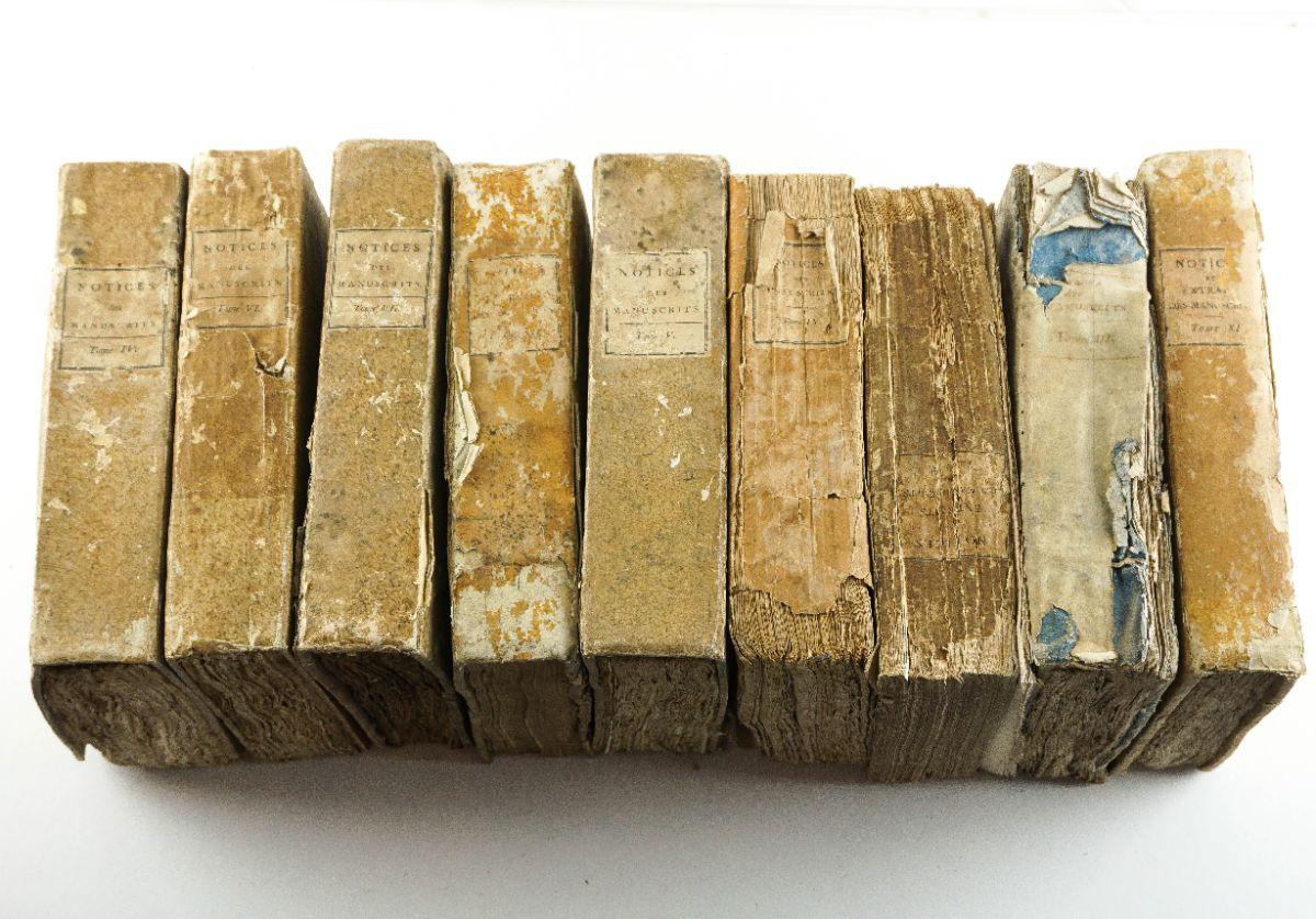 Notices et Extraits des Manuscrits de la Bibliothèque Nationale – Sec XVIII e XIX