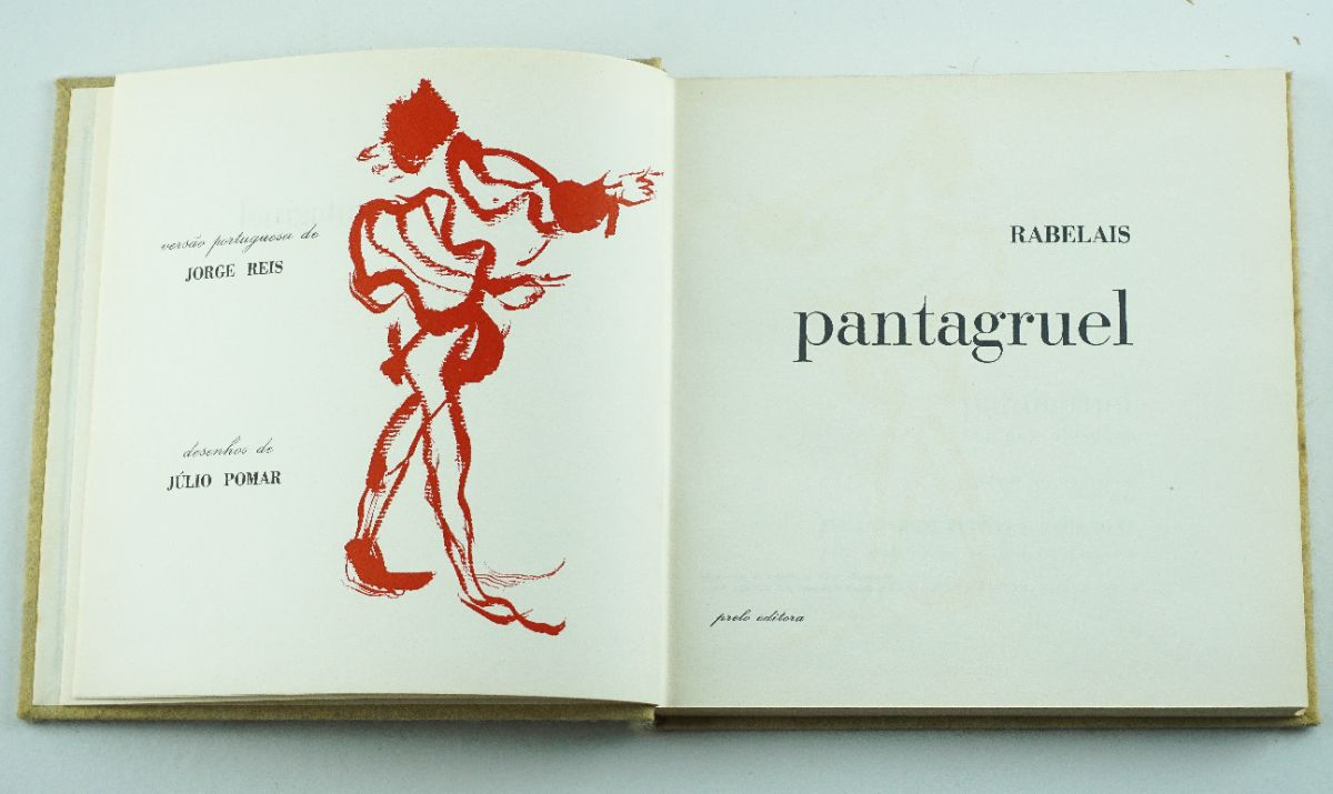 Julio Pomar – Pantagruel de Rabelais - 1967