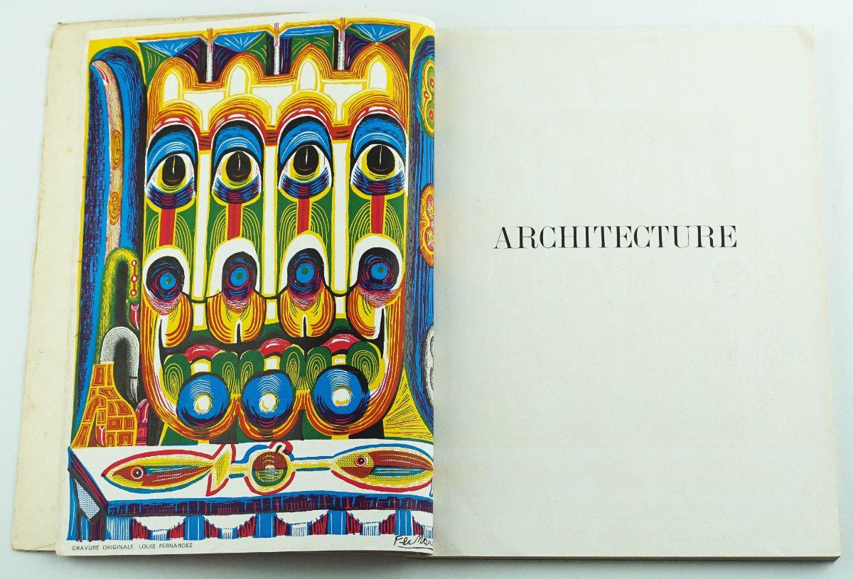 Art – Numero Hors – Série de L ´Architecture D´Aujord Hui – 1945 secção Futurista