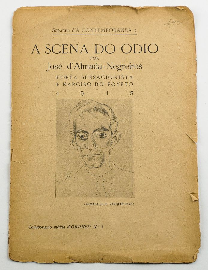 ALMADA NEGREIROS- A SCENA DO ÓDIO