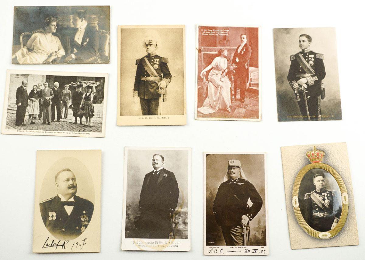 9 Postais da Família Real Portuguesa