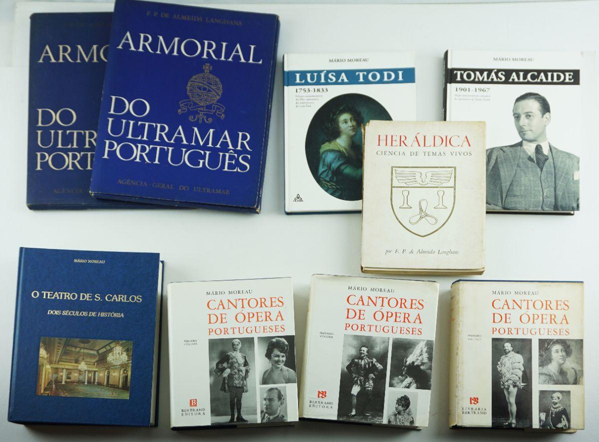 9 Livros diversos