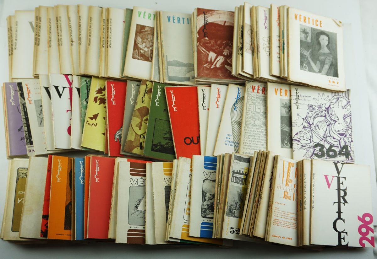 Revista Vértice (119 revistas, muitas das quais números duplos)