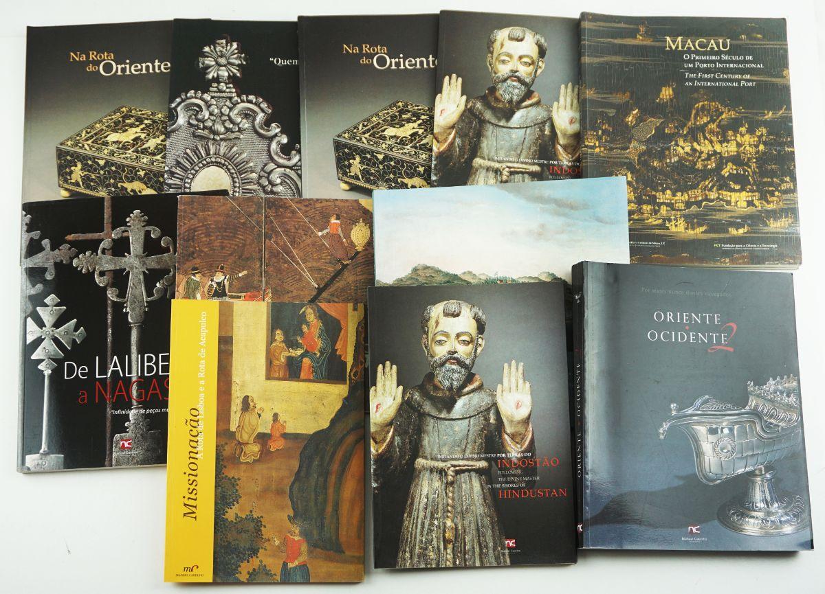 3 Livros / 9 Catálogos
