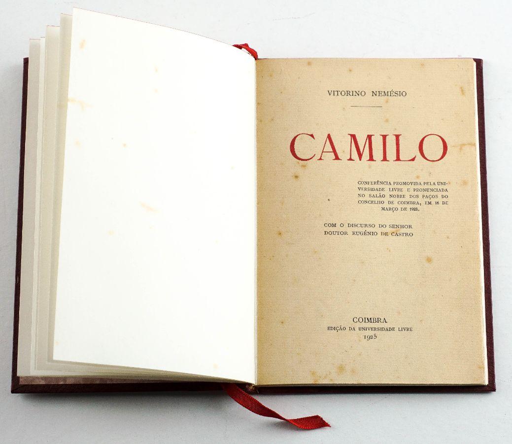 Vitorino Nemésio – com dedicatória