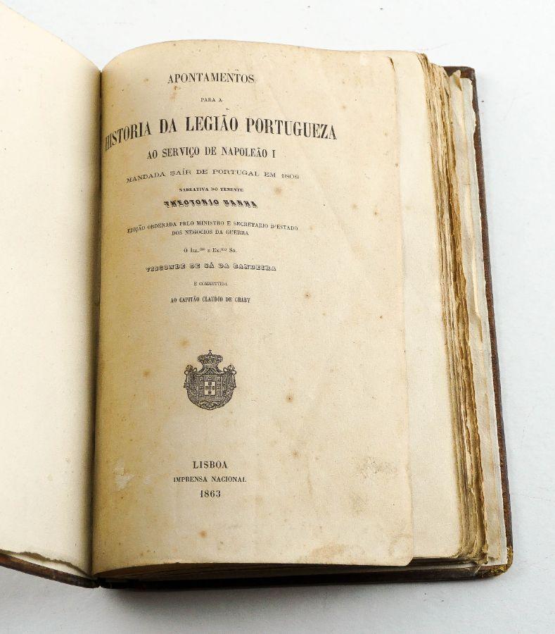 Apontamentos para a História da Legião Portuguesa (1863)