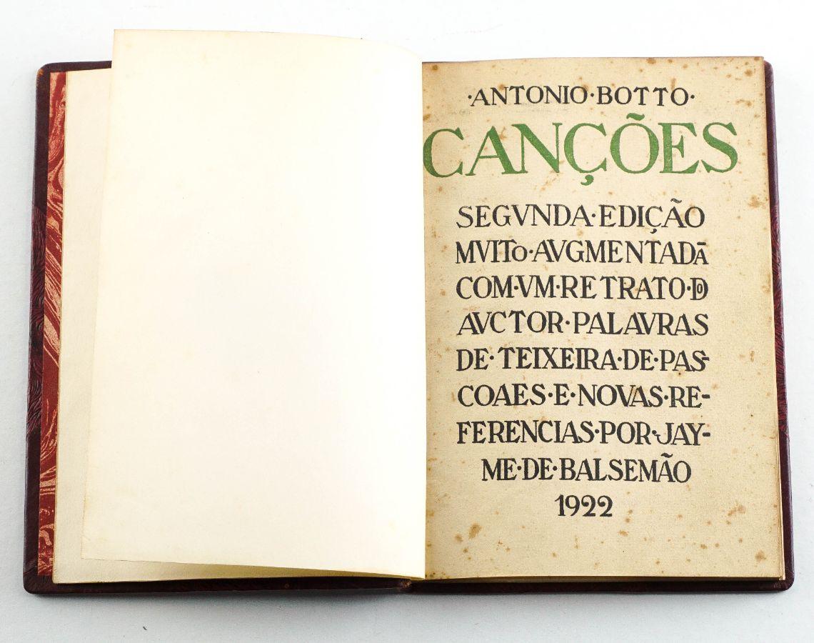 António Botto – com dedicatória