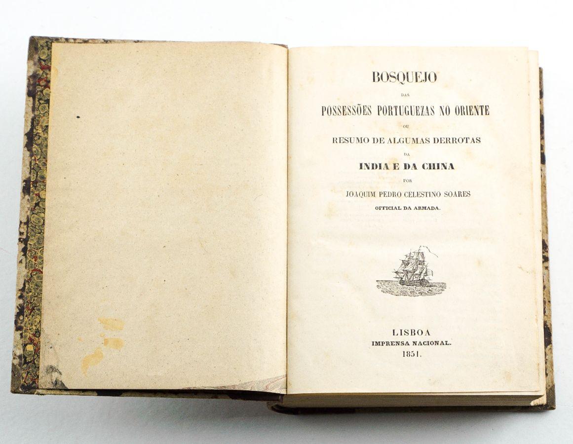 Bosquejo das Possessões Portuguezas no Oriente (1851)