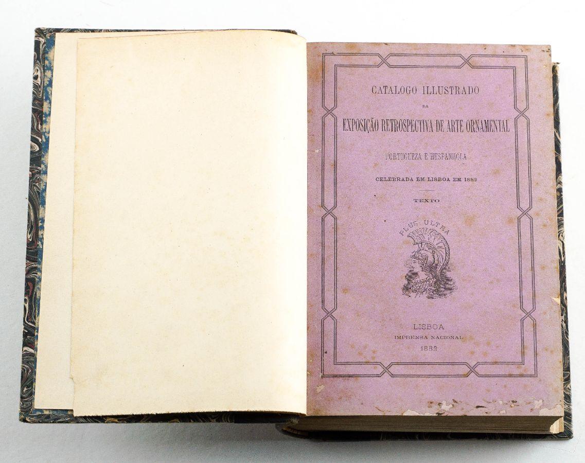 Catálogo Ilustrado da Exposição Retrospectiva de Arte Ornamental (1882)
