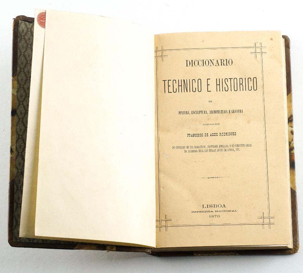 Dicionário Técnico e Histórico de Pintura, Escultura, Arquitectura e Gravura (1876)