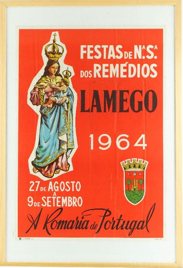 Festas da Nossa Senhora dos Remédios, Lamego 1964