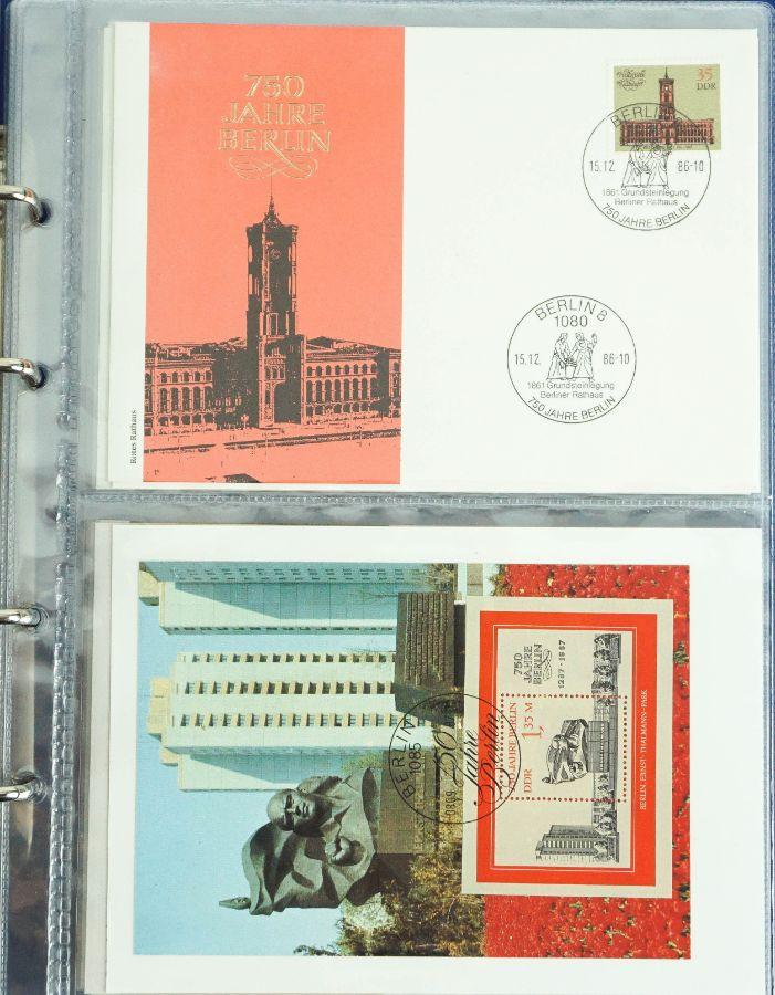 """Filatelia Temática """"750 Anos da Cidade de Berlim"""""""