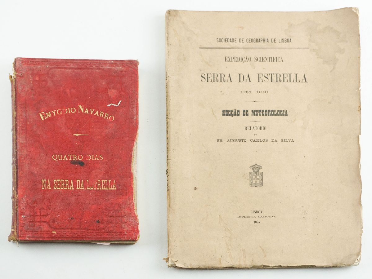 Livros do Séc. XIX sobre a Serra da Estrela