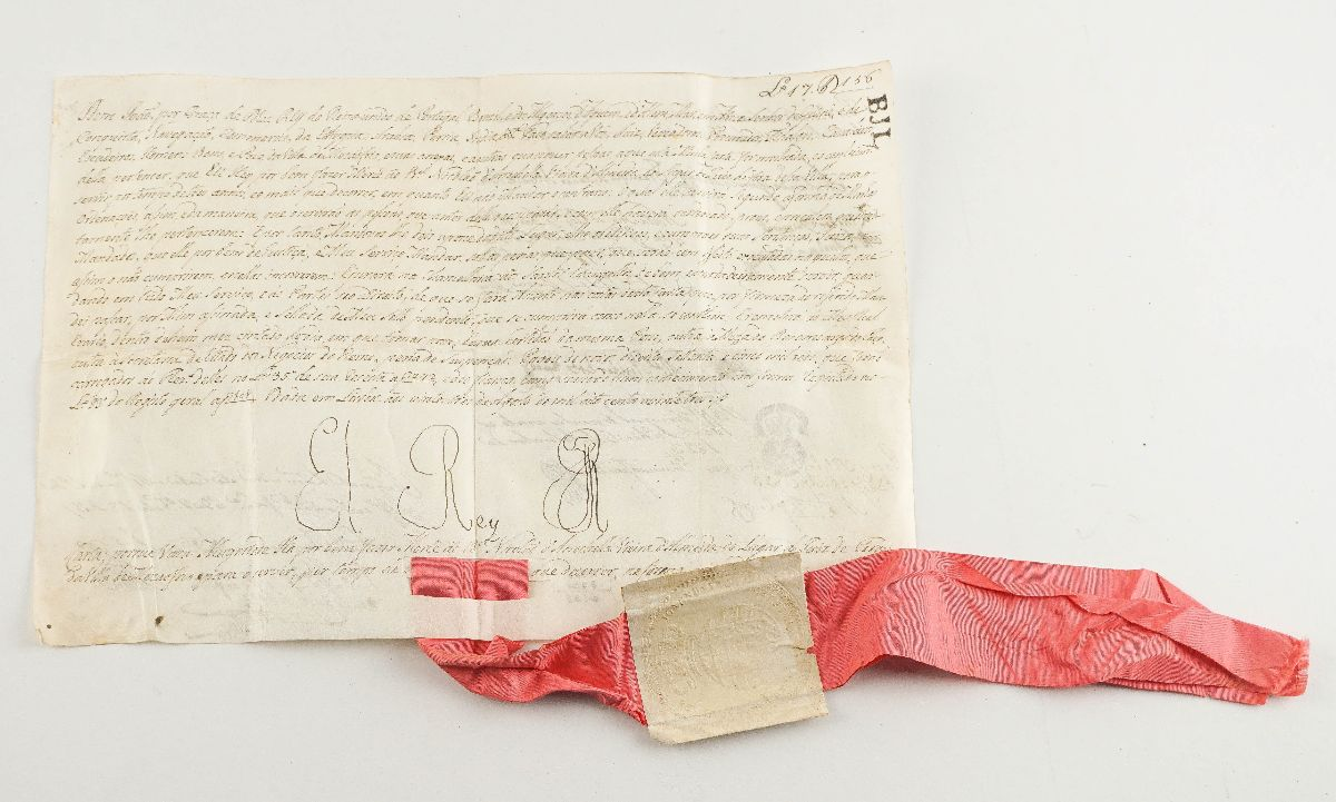 Manuscrito do Rei D. João VI (1823)