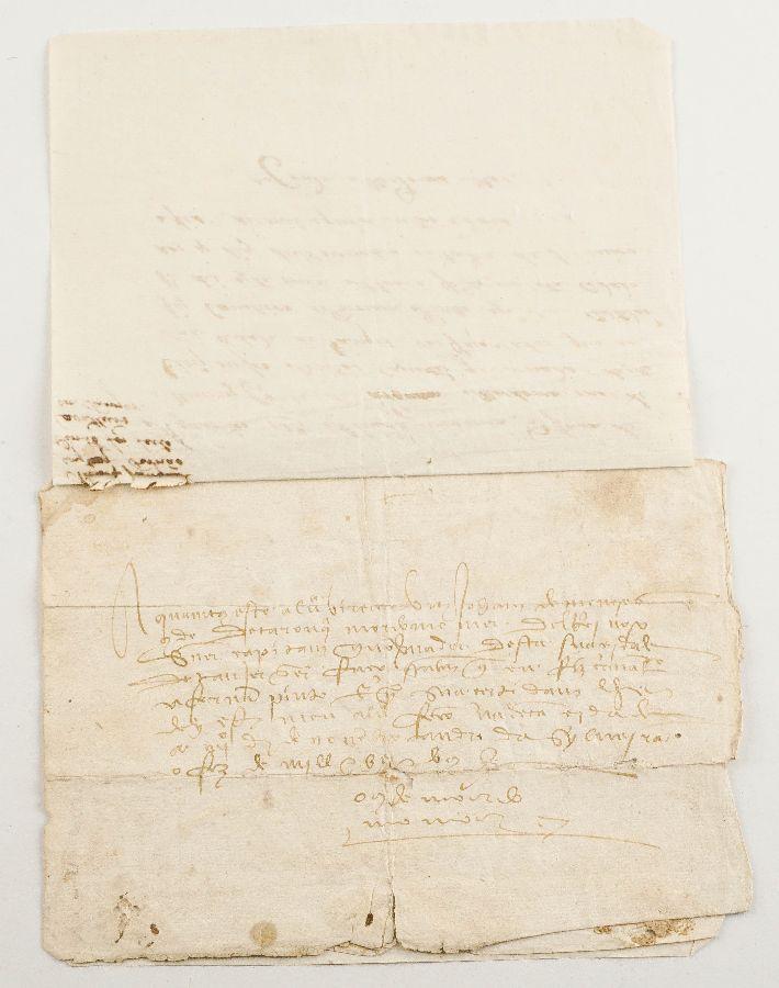 Raríssimo Manuscrito português redigido em Tangêr – 1502