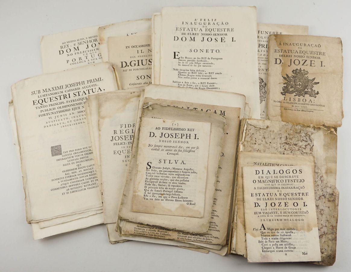 Publicações do Séc. XVIII sobre D. José I