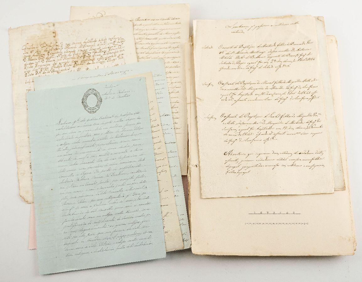 Manuscritos de genealogia e heráldica portuguesa sec XVIII a XX