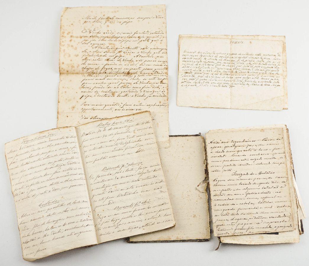 Manuscritos de cozinha Sec XVIII e XIX