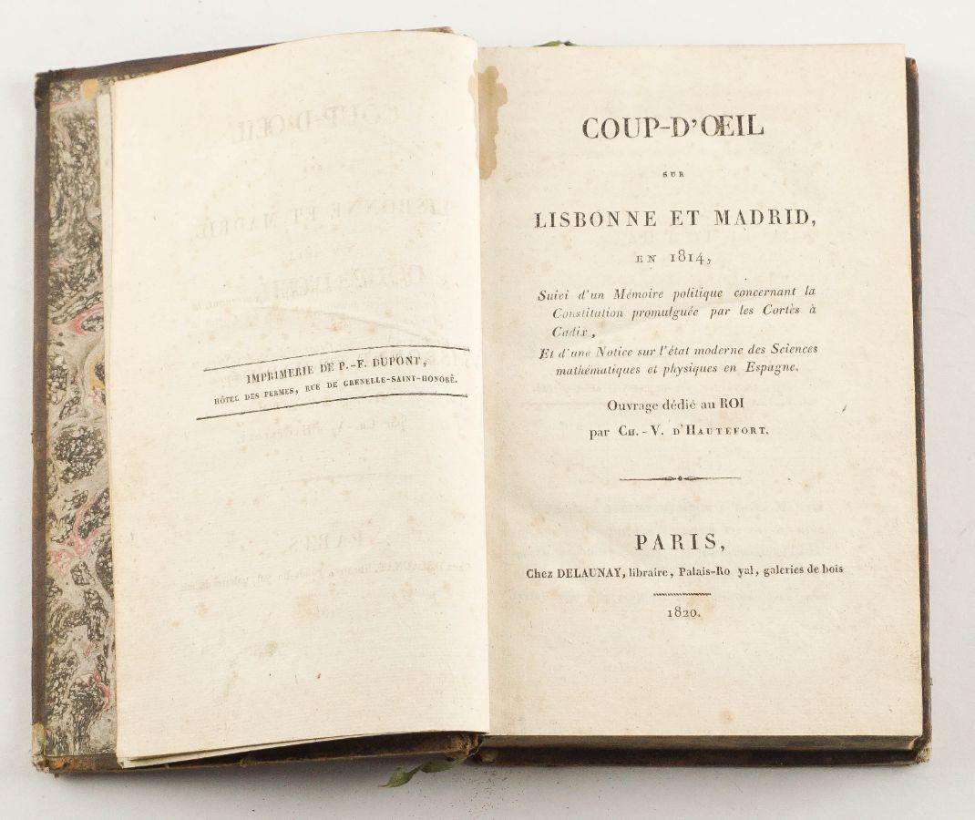 Coup d'Oeil sur Lisbonne et Madrid, en 1814, (…).