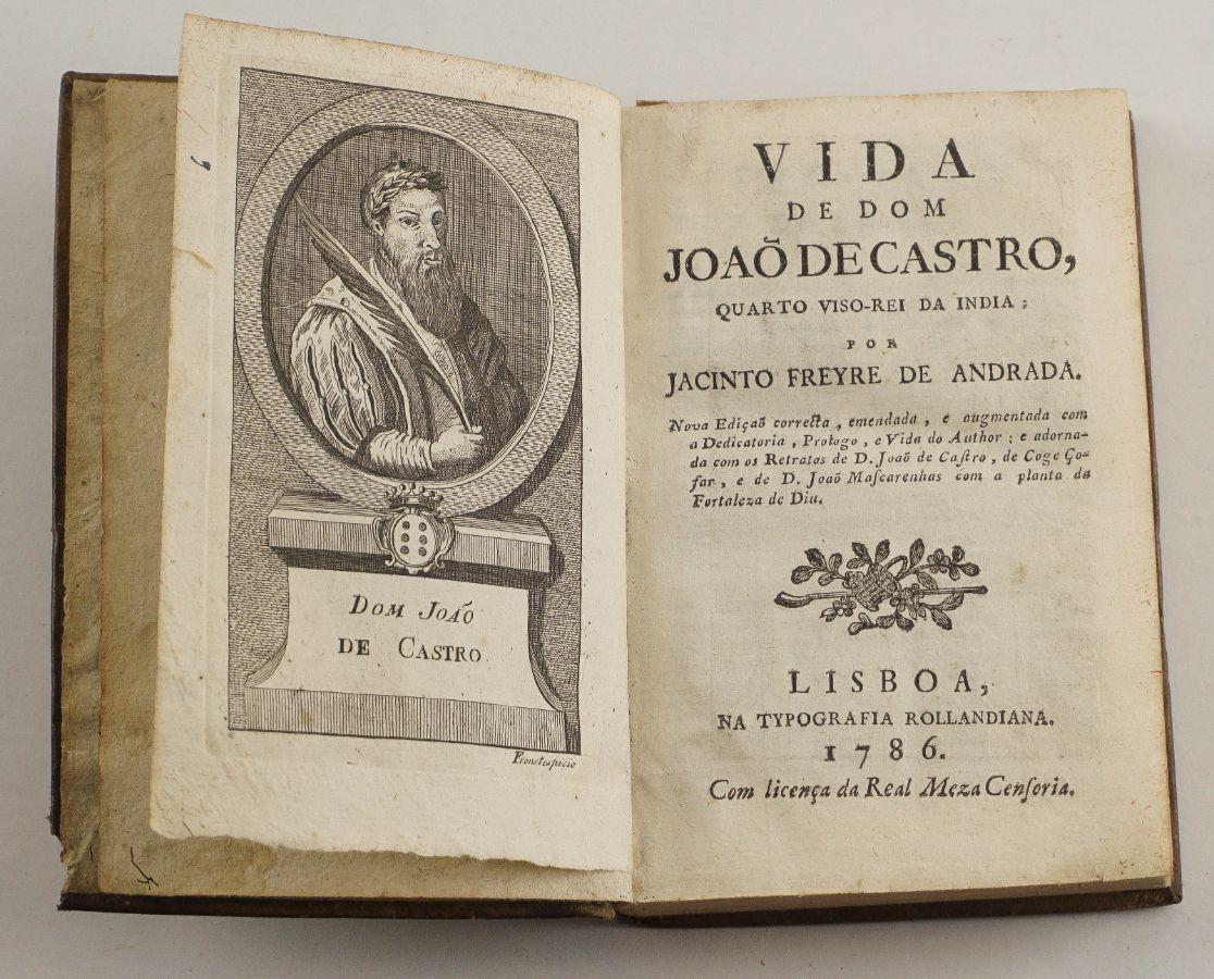 Vida de Dom João de Castro – 1786