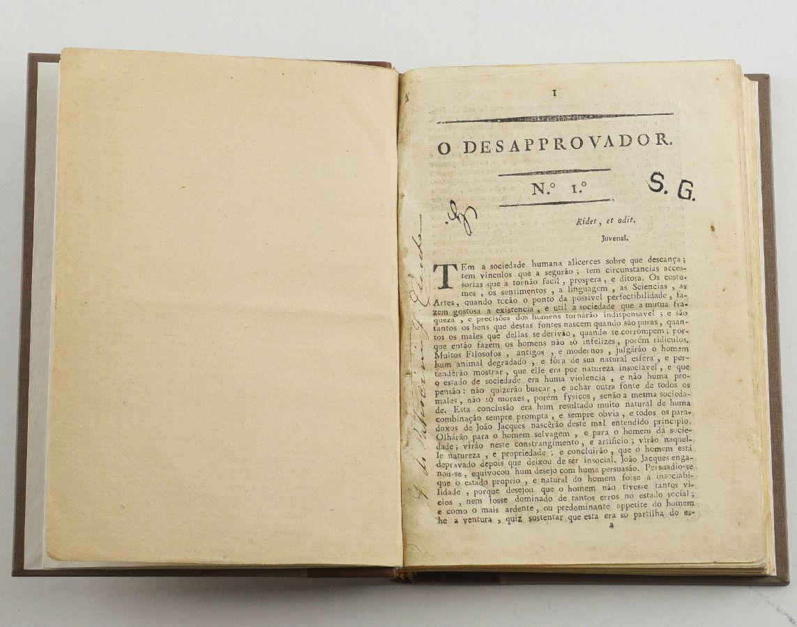 O Desaprovador (1818-1819)