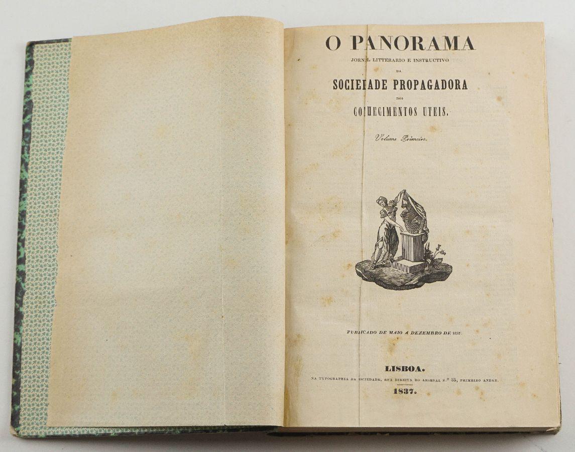 O Panorama – Jornal Literário e Instrutivo (1837-1868)