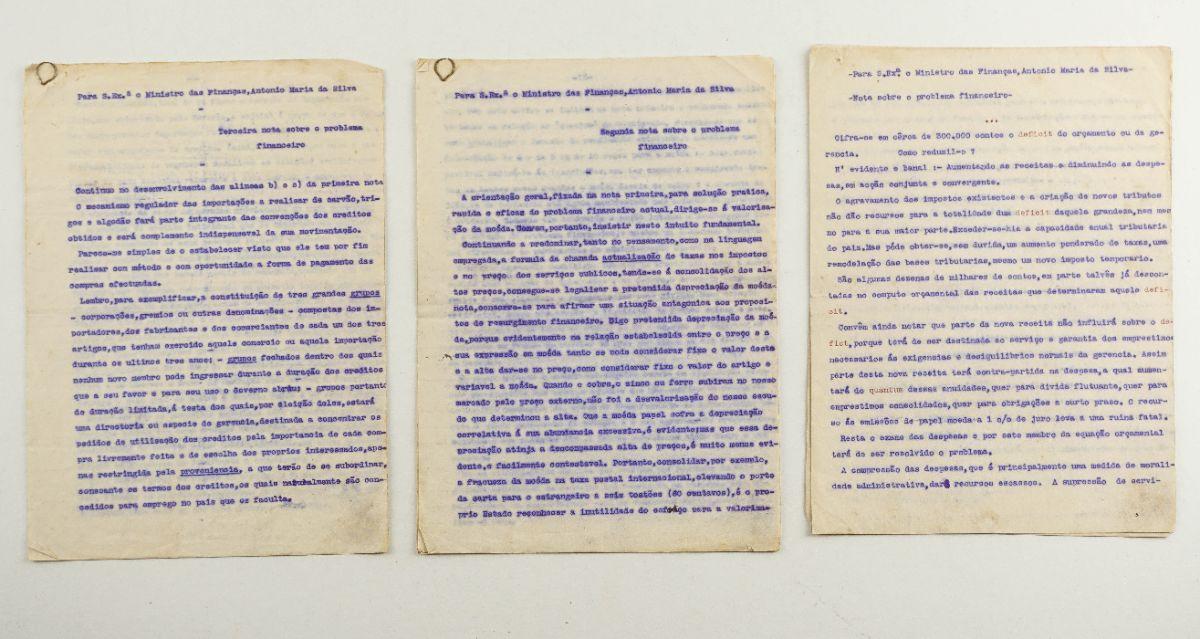 O problema financeiro português em 1921