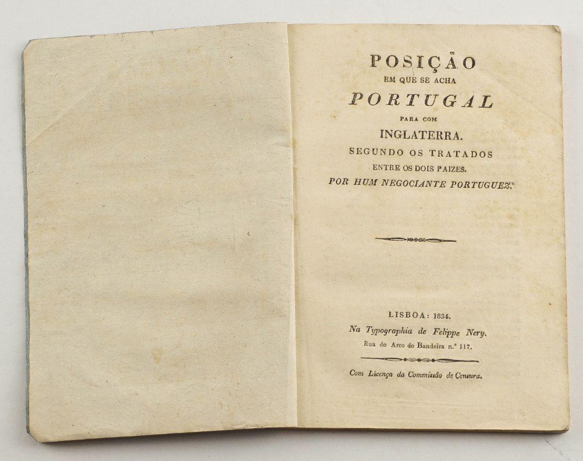Relações económicas luso-britânicas (1834)