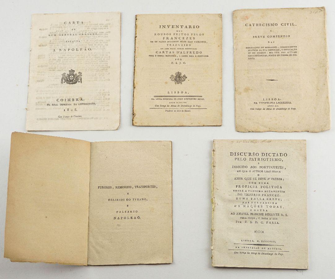 Folhetos antifranceses – I Invasão (1808)