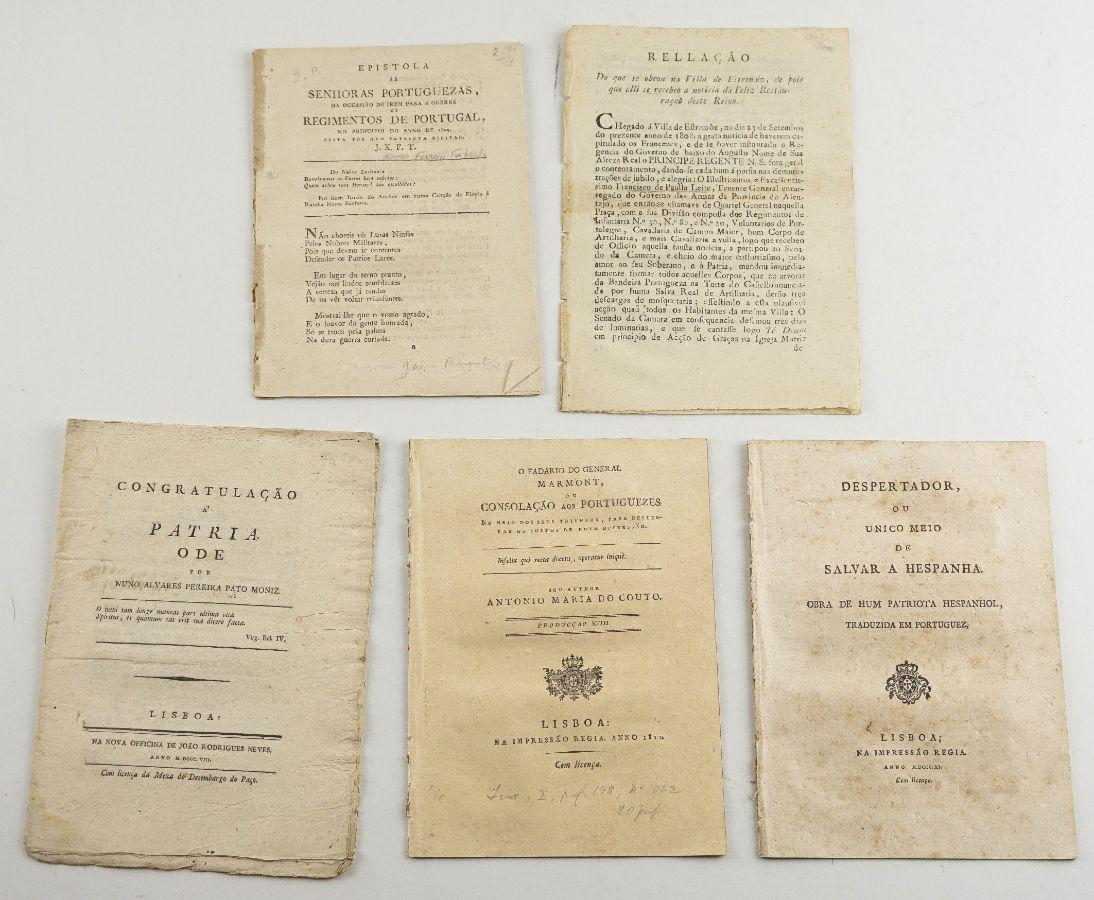Folhetos anti-napoleónicos portugueses
