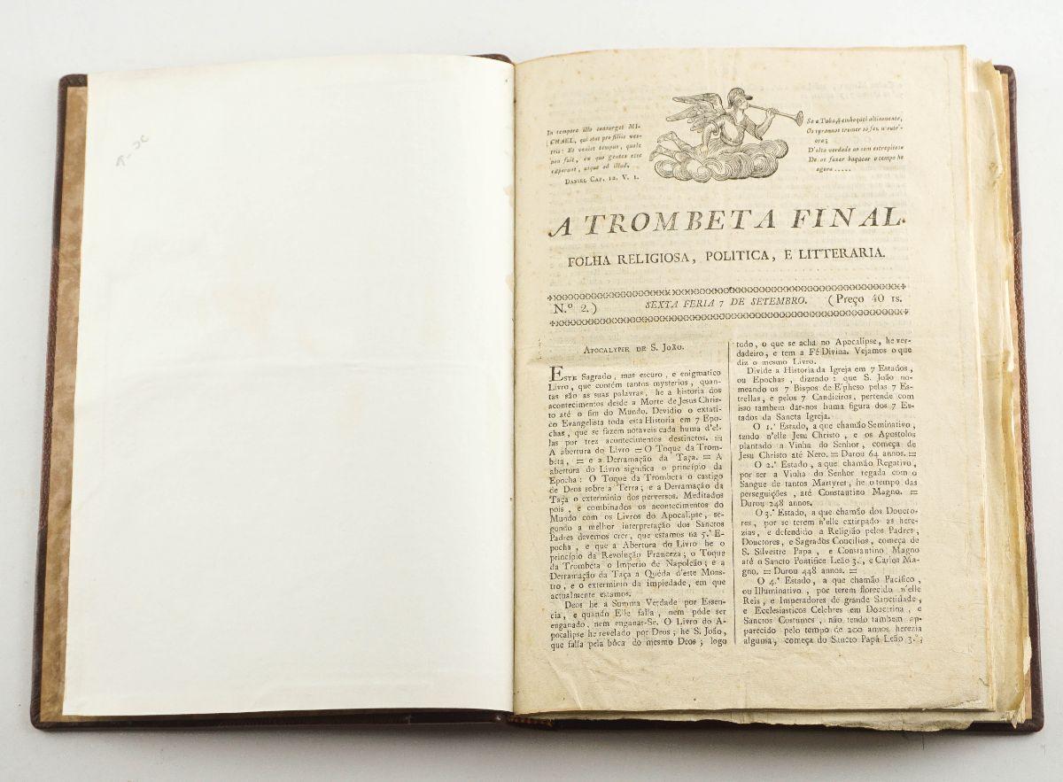 A Trombeta Final (1827-1828)