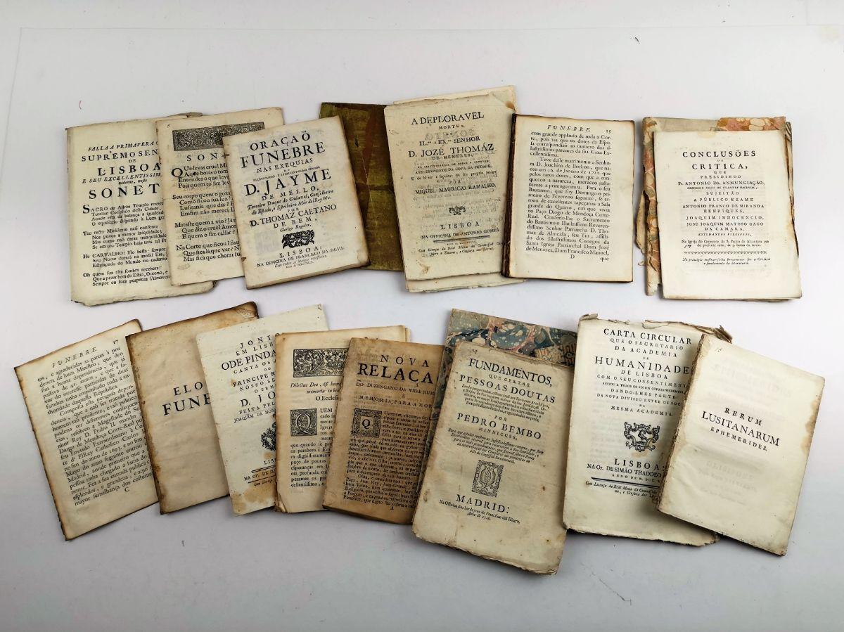 Conjunto de publicações do séc. XVIII e XIX