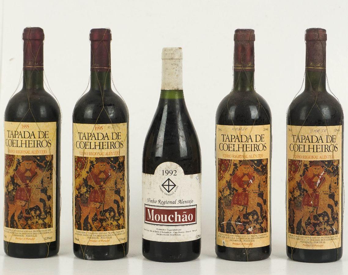 5 Garrafas de Vinho