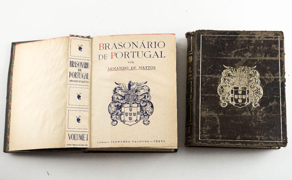 Brasonário de Portugal- Armando de Mattos