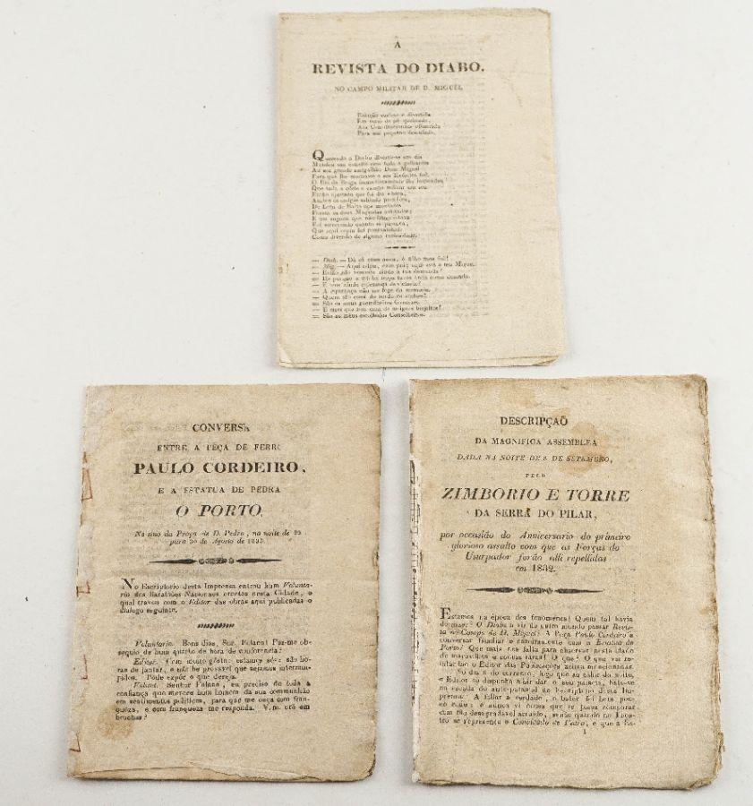 Publicações anti-miguelistas durante o cerco do Porto (1833)