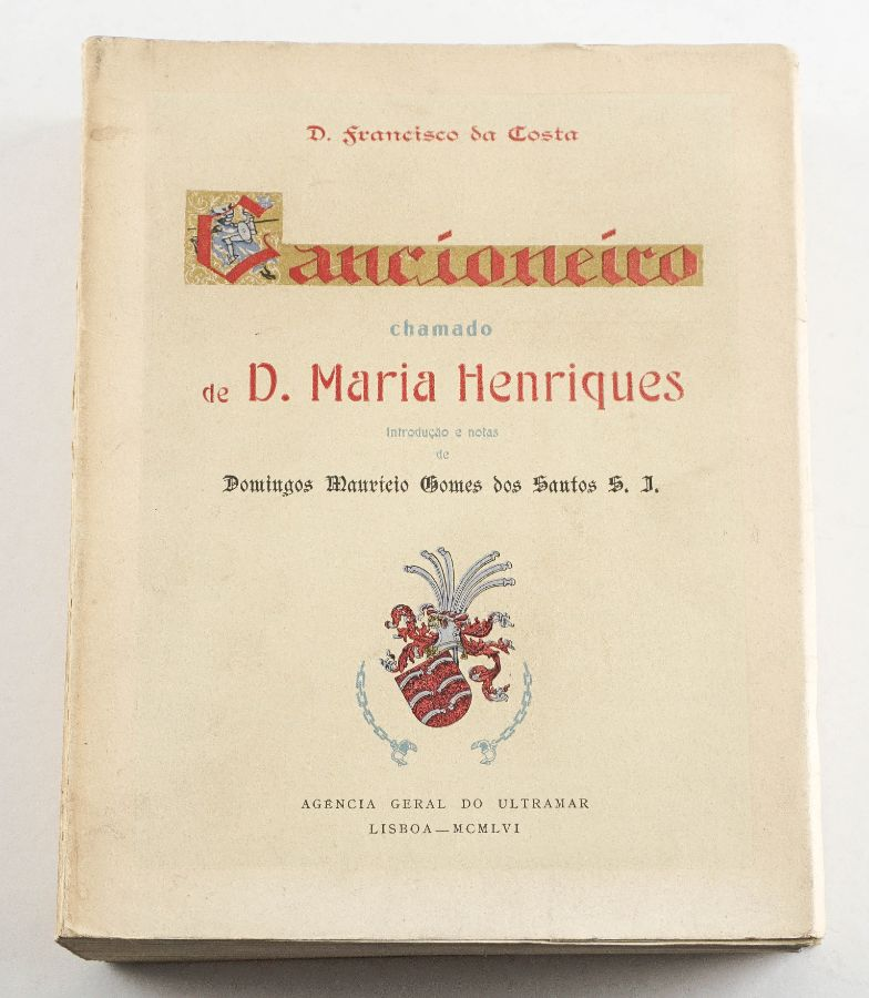 CANCIONEIRO DE DONA MARIA HENRIQUES