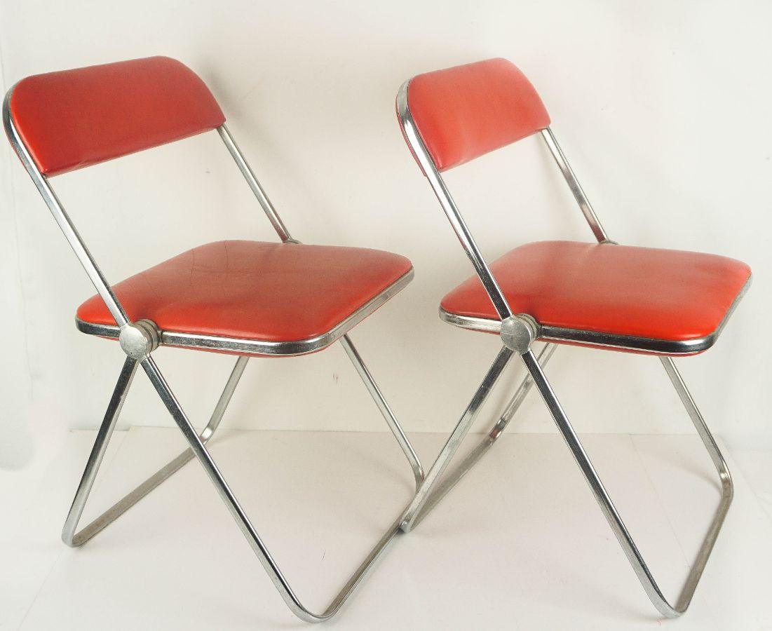 Par de cadeiras modernistas articuladas