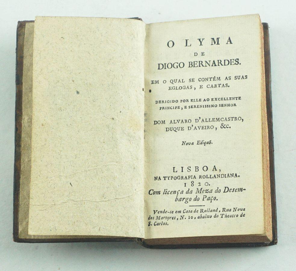 O Lyma de Diogo Bernardes.