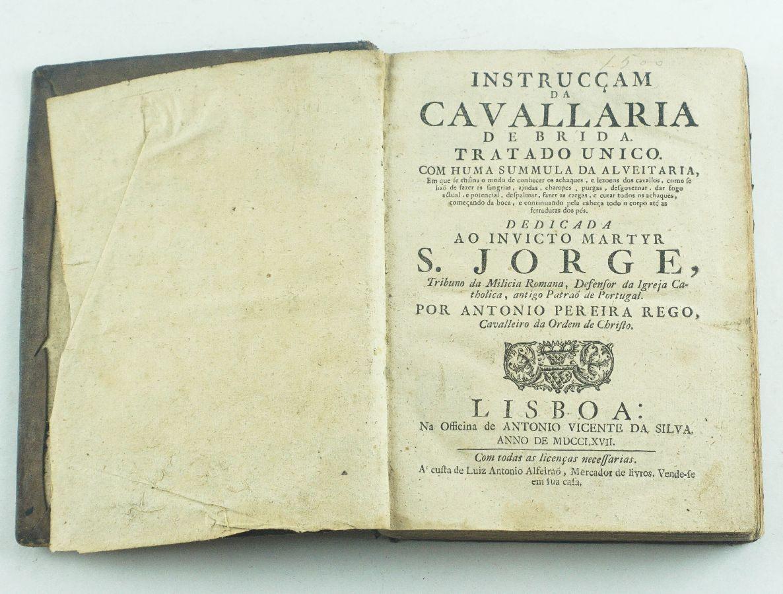 Instrucçam da Cavallaria de Brida - 1767