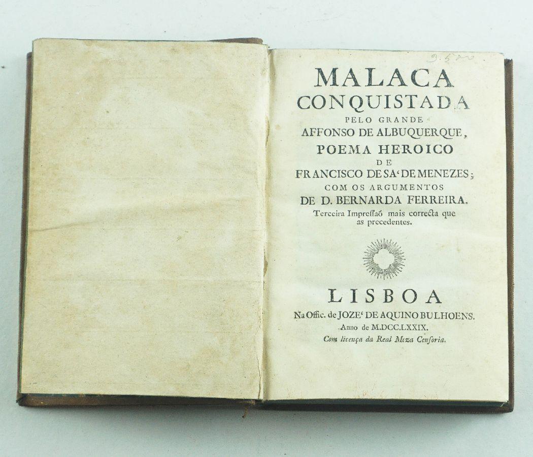 Malaca Conquistada pelo grande Affonso de Albuquerque – 1779