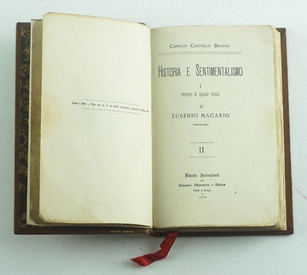 Camillo Castelo Branco – primeira edição