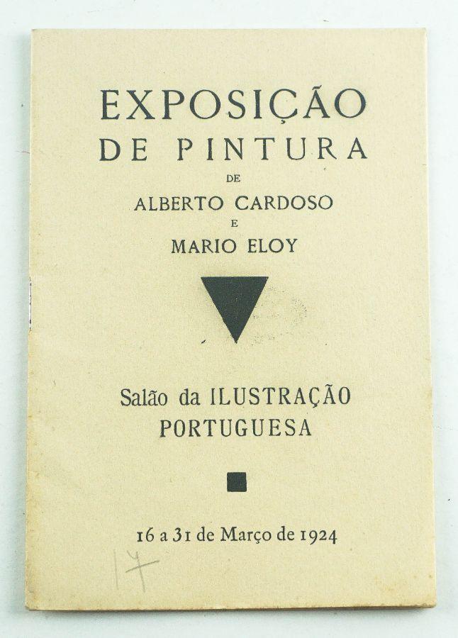 Primeiro Catálogo e Primeira Exposição do pintor Mário Eloy