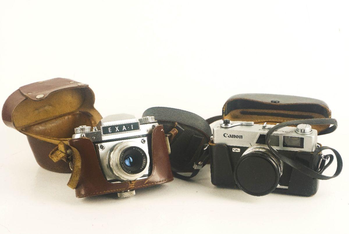 2 Máquinas Fotográficas