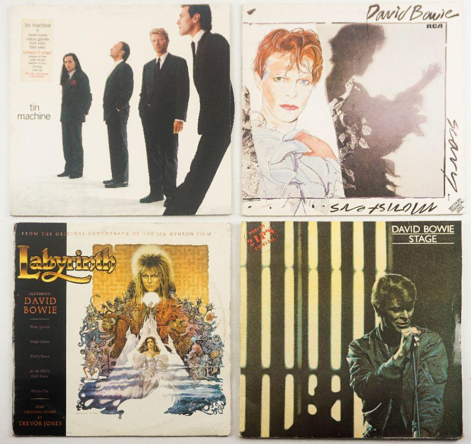 """Discos Vinil antigos """"David Bowie"""""""