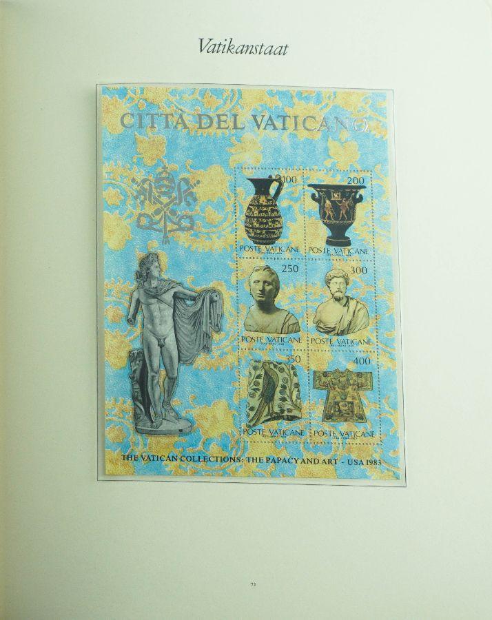 Filatelia Cidade do Vaticano - Completa de 1974 a 1990