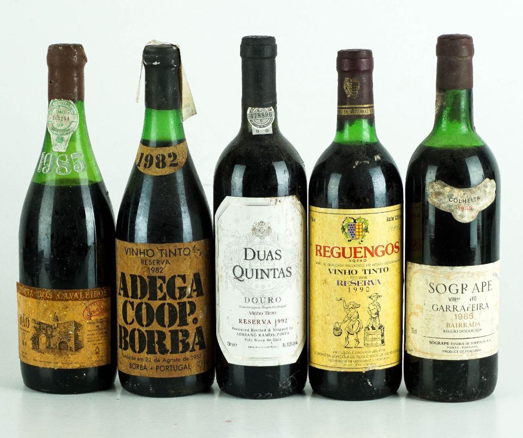 9 Garrafas de Vinho Tinto