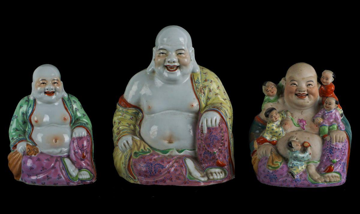 3 Budas