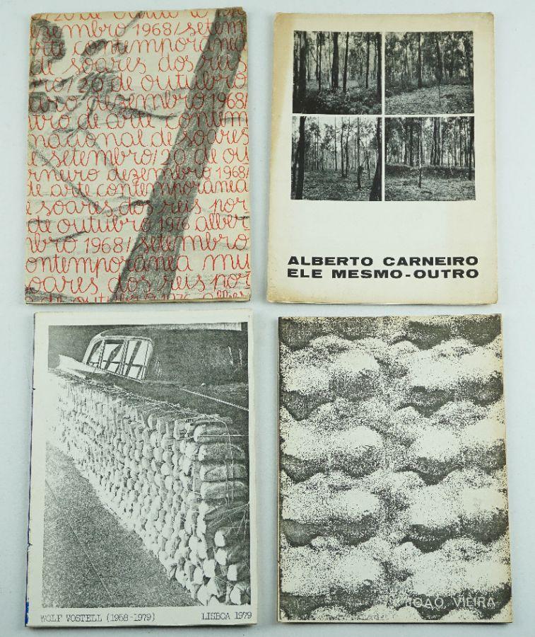 Publicações de artista anos 70 e 80